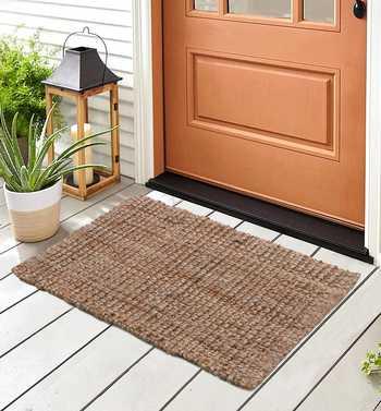 Outdoor Hand Woven Jute Doormat