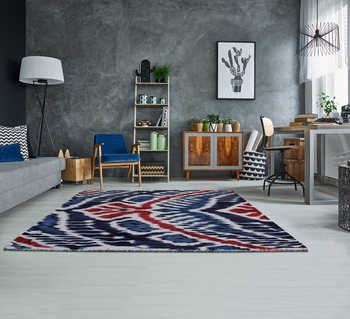CROWN IKAT RUG