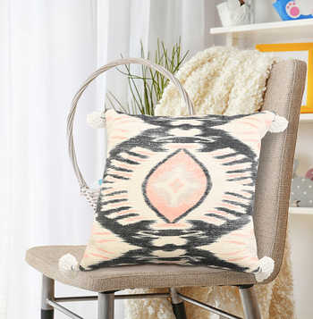 Multi Kilim Cotton Printed Cushion