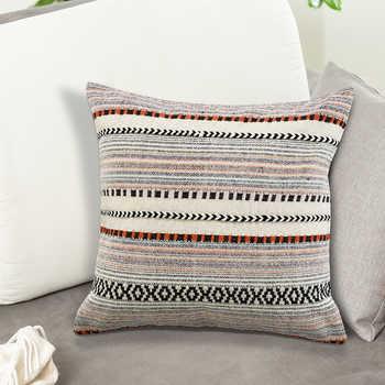 Multi Cotton Jacquard With Dori Cushion