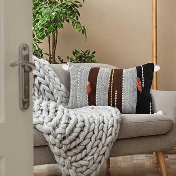 Multi Hand Woven Cotton Cushion