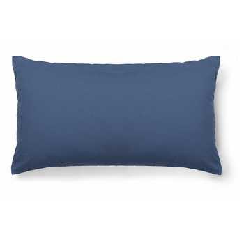 Blue Chenille Jacquard Cushion Cover