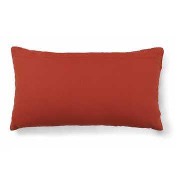 Rust Chenille jacquard Cushion Cover