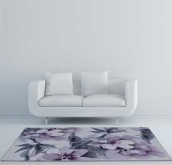 Lavender Cosmos Rug