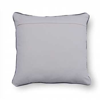 Slub Printed Cushion Cover