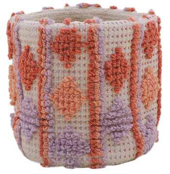 Cotton Pitloom Braided Basket