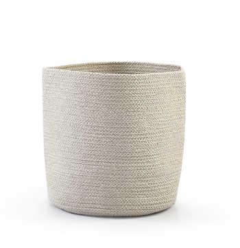 Ivory Cotton Basket
