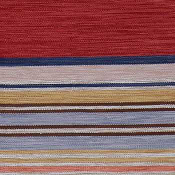 Hand Woven PET Stripe Rug