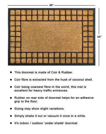 Brush mat