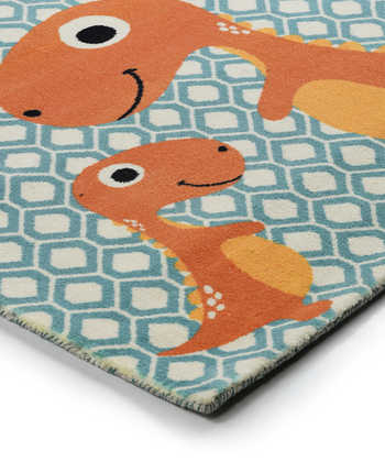 MOM AND ME T-REX RUG