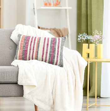 Multi Cotton Woven Cushion