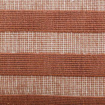 Rust Woven Cotton Cushion