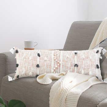 Blush Cotton Woven Cushion