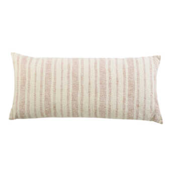 Ivory Woven Cotton Cushion