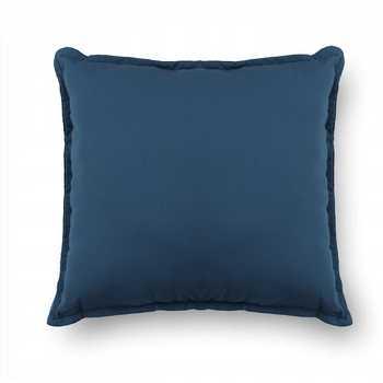 Navy Plain Chenille Cushion Cover