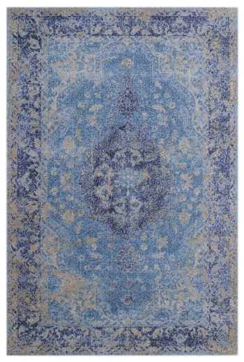 Porcelain Blue Rug
