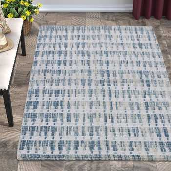 Hand Woven Wool Cotton Rug