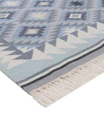Hand Woven Cotton Punja Kilim  Rug