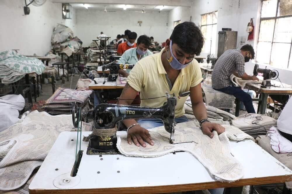 Raj Bespoke Carpet Process