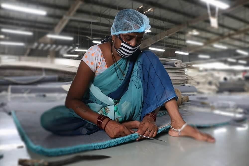 Raj Bespoke Carpet Sewing
